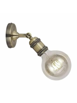 CRISTALRECORD E27 Calabri wall lamp brass