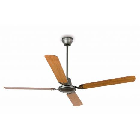 FARO Malvinas ceiling fan dark grey