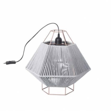 Lámpara de mesa Legato 41cm gris - Leds C4