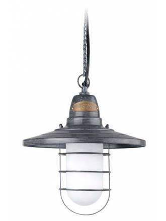 Lámpara colgante Cottage 1L gris - Leds C4