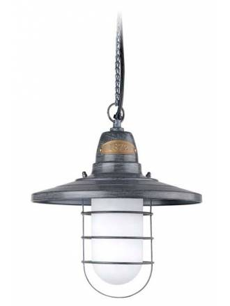 LEDS C4 Cottage pendant lamp 1L grey