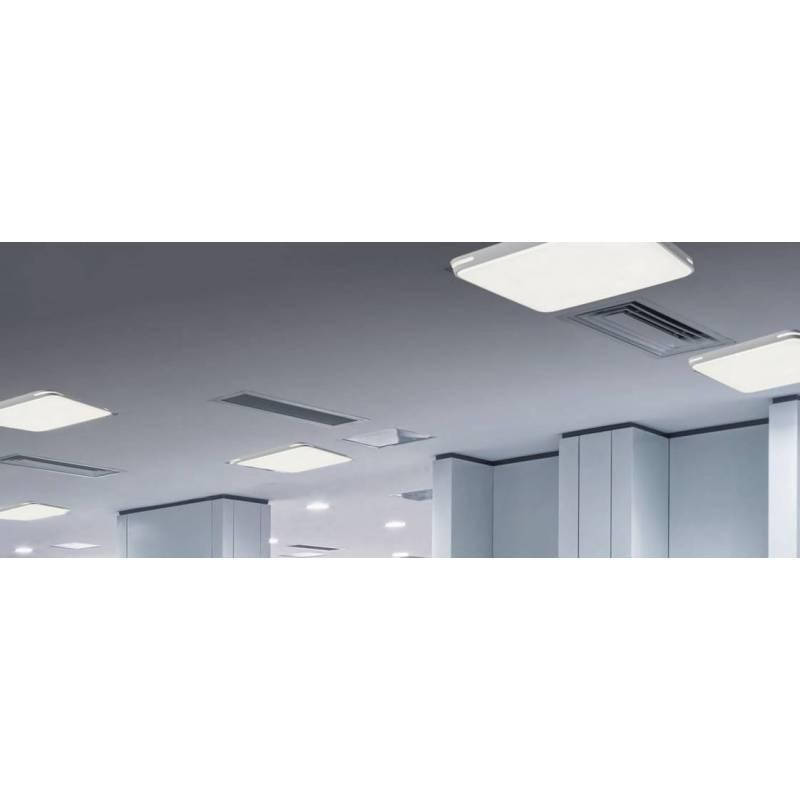Plaf n de techo antu led 55w blanco acb for Plafon led techo