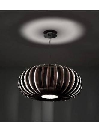 Lámpara colgante Wig 1xE27 madera - Anperbar