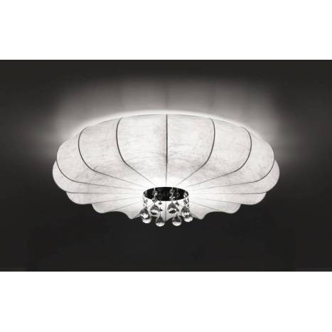 Plafón de techo Lluvia tela blanca - Anperbar