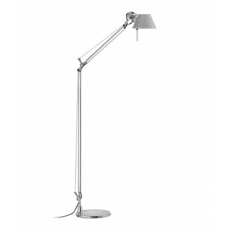 Office floor lamp 1L aluminium