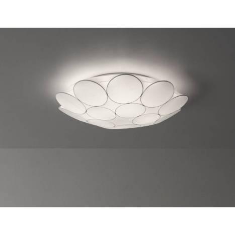 Plafón de techo Muffin tela blanca - Anperbar