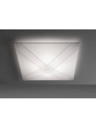 Plafón de techo Aspa tela blanca - Anperbar