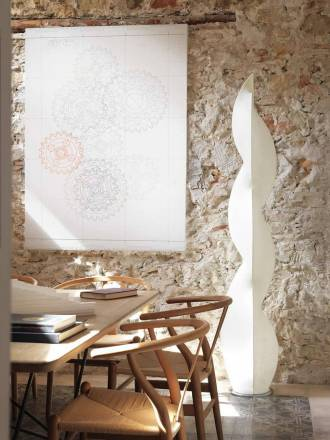 ANPERBAR Afrodita floor lamp white