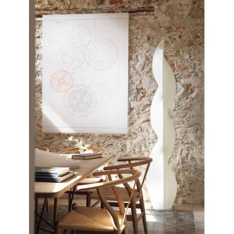 Lámpara de pie Afrodita tela Artecoon - Anperbar