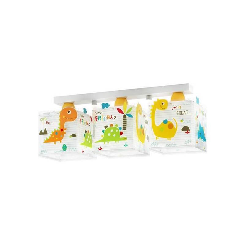 Lámpara de techo Dinos 3L infantil - Dalber