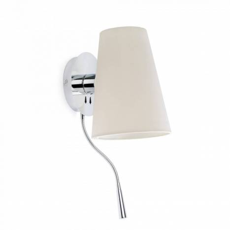 Aplique de pared Lupe E27 + LED 1w - Faro