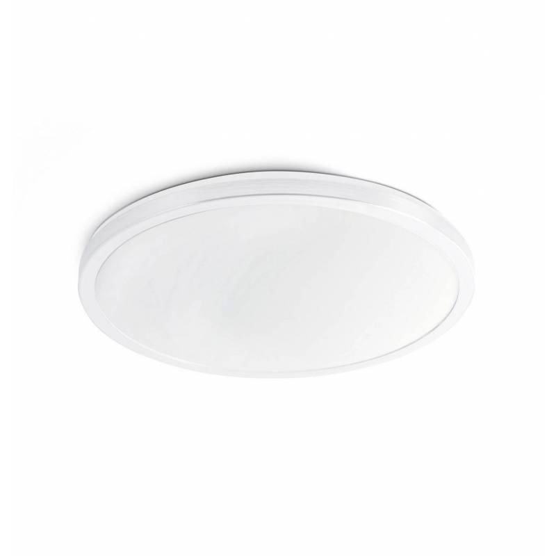 Plaf n de techo foro led 24w ip44 blanco faro - Plafon led techo ...