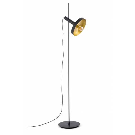 faro whizz floor lamp black gold. Black Bedroom Furniture Sets. Home Design Ideas