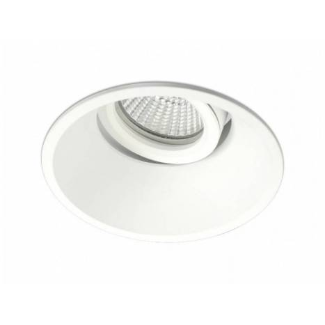 BPM Sikma I recessed light white aluminium