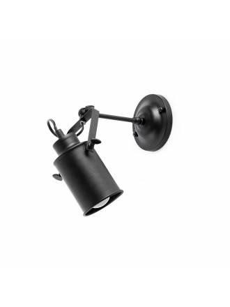 FARO List 1L E14 wall lamp black