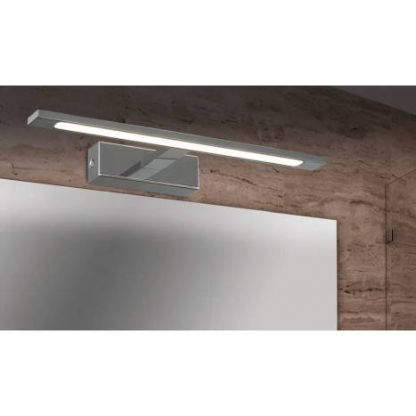 Aplique de pared Aqua LED cromo - Daviu
