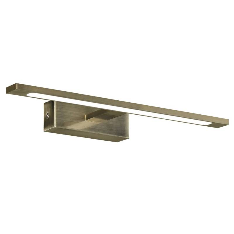 Acb aqua ip44 led wall lamp brass