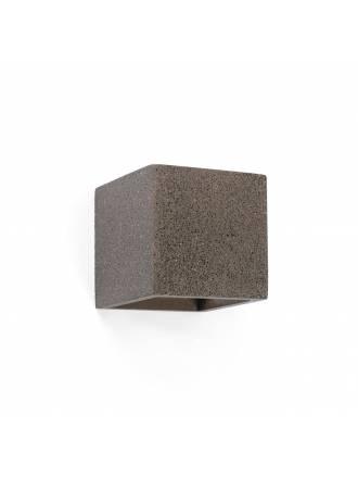 FARO Kamen wall lamp grey cement