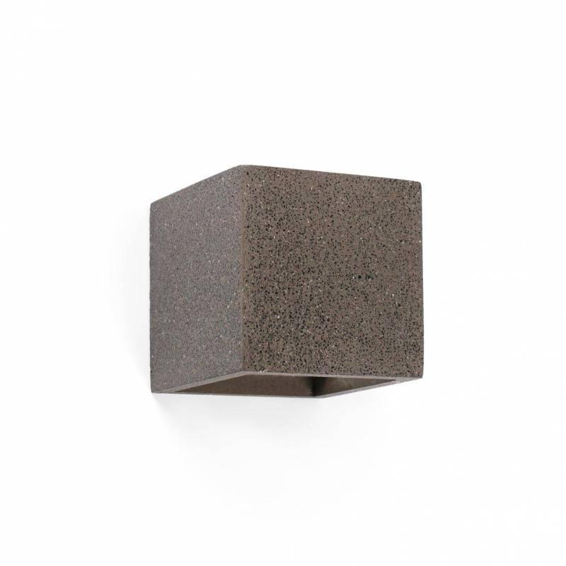 Aplique de pared Kamen cemento Gris - Faro