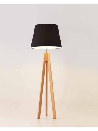 Lampara de pie Trip 1 luz madera de Aromas
