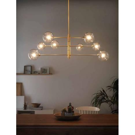 Aromas Atom 8l Pendant Lamp Brass
