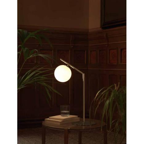 Lámpara de mesa Endo 1L G9 cromo - Aromas
