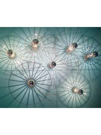 AROMAS Wheel 1L E27 wall lamp