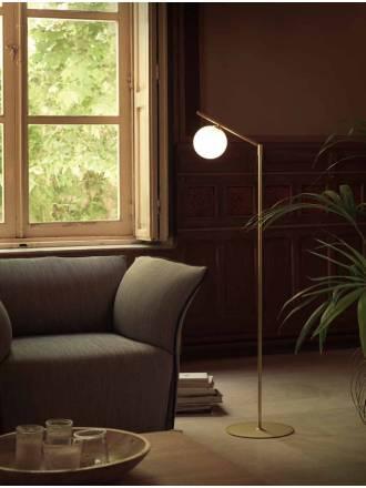 Lámpara de pie Endo 1L G9 cromo - Aromas
