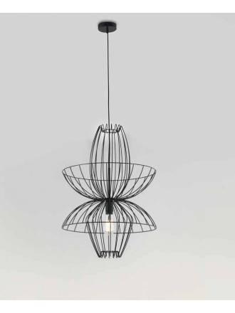 Lámpara colgante Ellen 1L E27 metal - Aromas