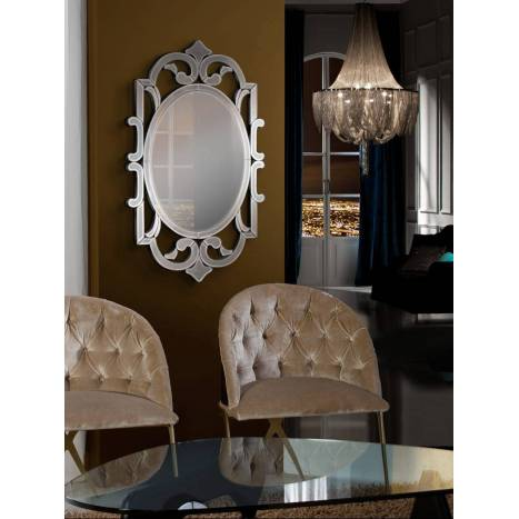 SCHULLER Honore wall mirror 90x53cm
