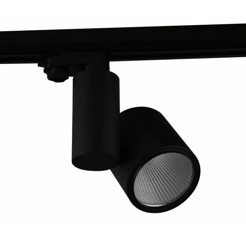 Foco de carril LC1562 LED negro - YLD