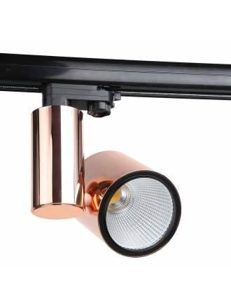 Foco de carril LC1562 LED cobre - YLD
