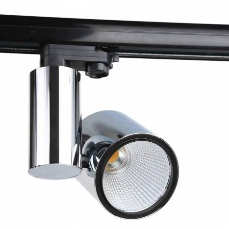 Foco de carril LC1562 LED cromo - YLD