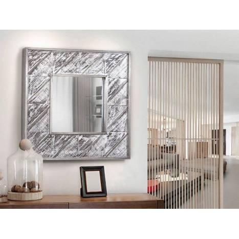 espejo de pared alpes xcm aluminio schuller