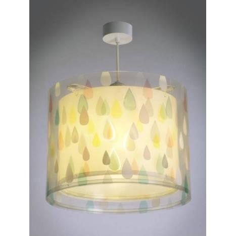 Lámpara colgante infantil Color Rain - Dalber