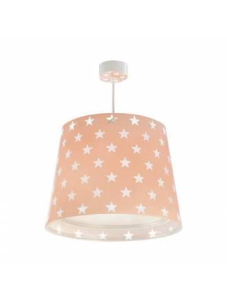 DALBER Stars pink pendant lamp E27