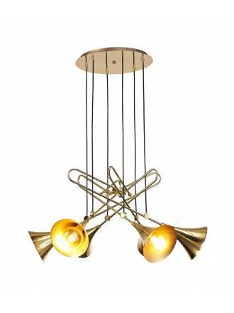 Lámpara colgante Jazz 6L E27 - Mantra