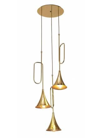 Lámpara colgante Jazz 3L E27 - Mantra