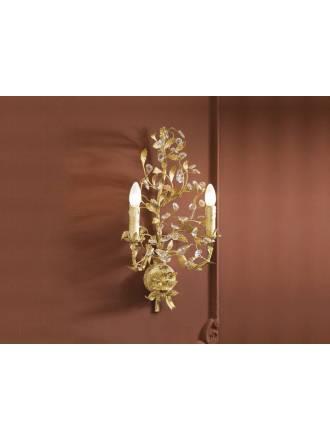 Aplique de pared Verdi 2L E14 oro - Schuller