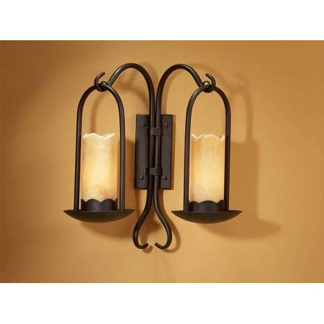 Schuller Candela wall lamp 2 light