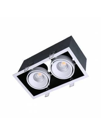 Foco empotrable Kardan Box LED 2L 13w - Maslighting