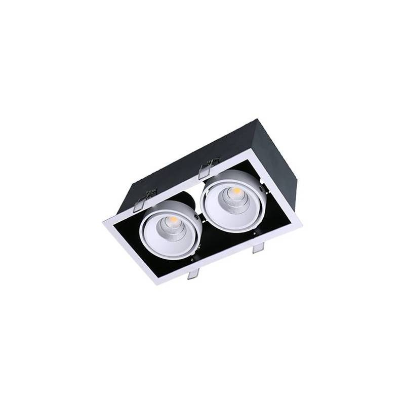 MASLIGHTING Kardan Box LED 2L 13w recessed light