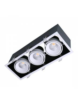 MASLIGHTING Kardan Box LED 3L 13w recessed light