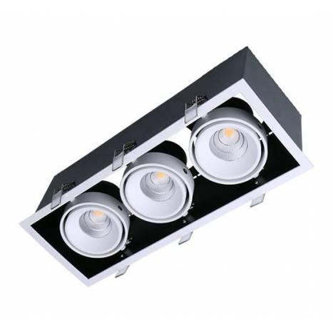 Foco empotrable Kardan Box LED 3L 13w - Maslighting