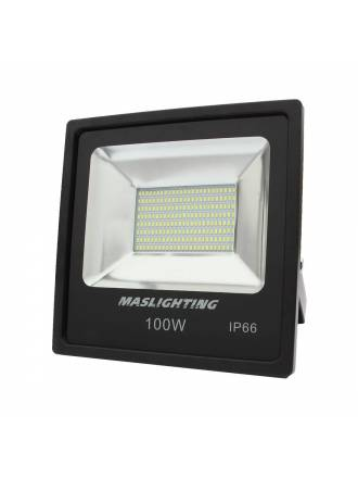 Proyector LED SMD 100w IP66 Top Slim - Maslighting