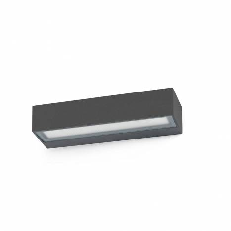 Aplique de pared Toluca LED 16w IP54 gris - Faro