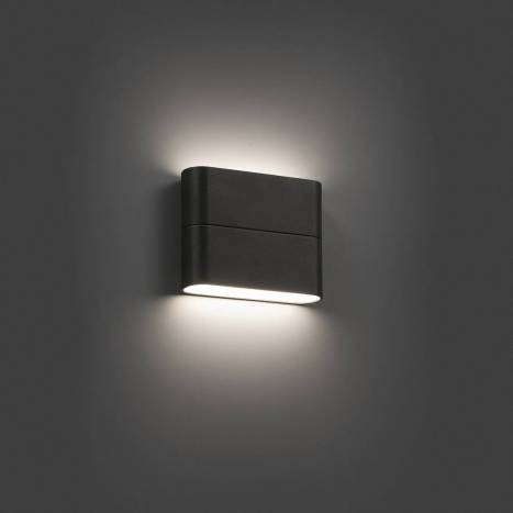 Aplique de pared Aday-1 LED 6w gris - Faro
