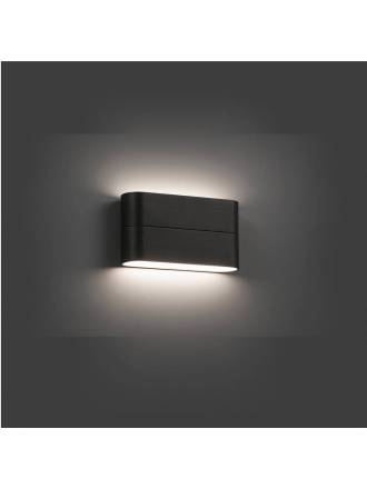 FARO Aday LED 12w wall lamp grey