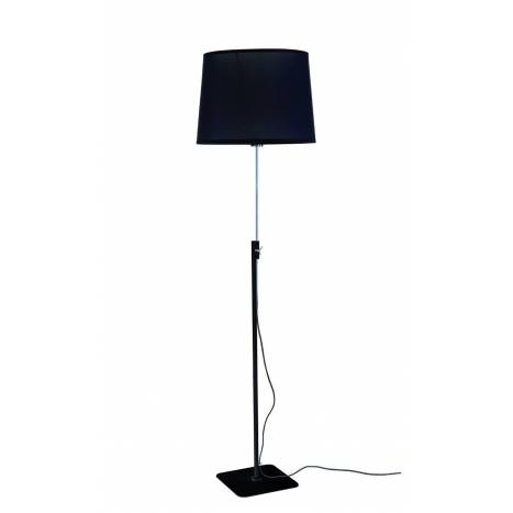 Lámpara de pie Habana 1L E27 negro - Mantra