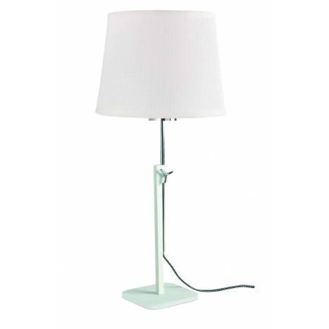 Lámpara de mesa Habana 1L E27 blanco - Mantra